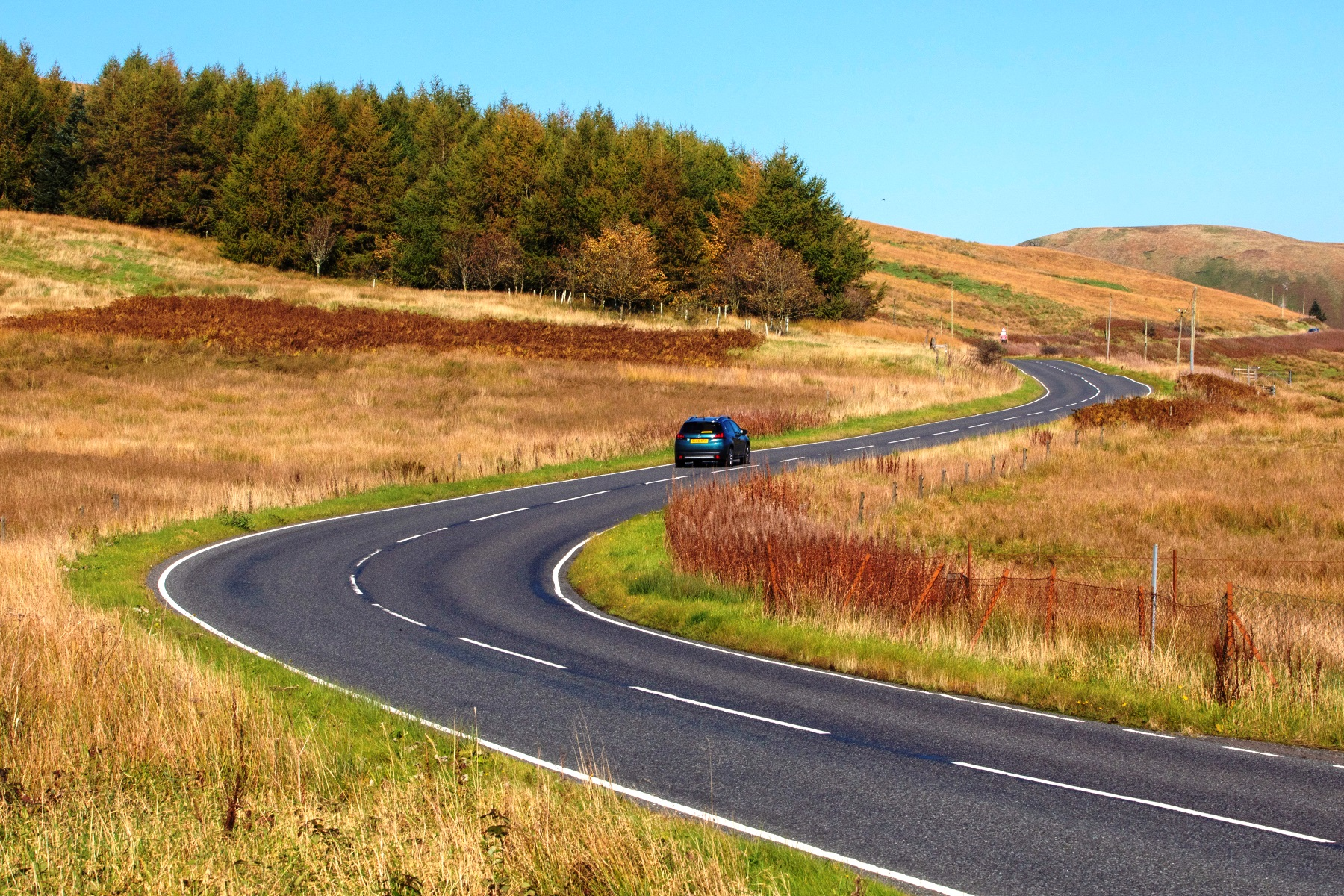 The-A701-from-Moffat-to-Edinburgh-in-the-Scottish-Borders-best-driving-roads